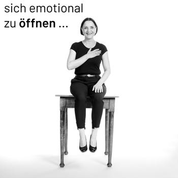 sich emotional öffnen
