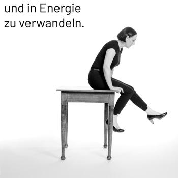in Energie verwandeln